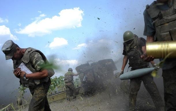 Новости АТО 14.10.2014 - в районе Бахмутки Луганской области идут бои