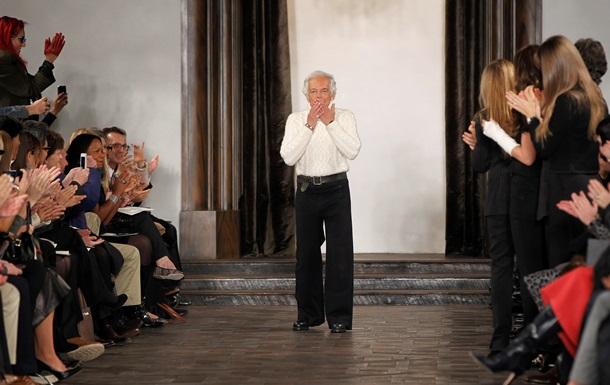 Самый успешный дизайнер США Ральф Лорен отмечает 75-летие