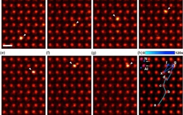 Физики впервые увидели движение атома в кристалле