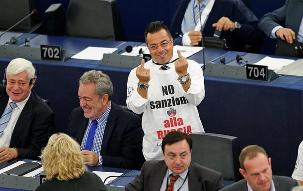 Итальянская партия будет бороться в ЕС за отмену санкций против России