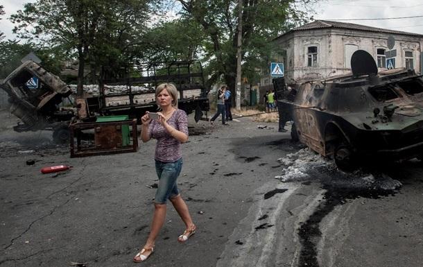 В Мариуполе объявлен траур по погибшим в Сартане