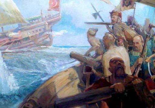 Морські походи запорозьких козаків