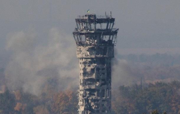 Отбит очередной штурм Донецкого аэропорта - пресс-центр АТО
