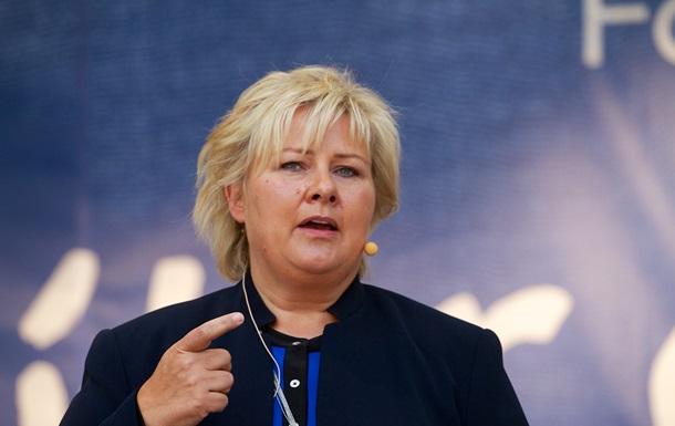 Премьер Норвегии посетит Украину