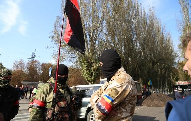 Правый сектор подтвердил причастность к блокированию Запорожстали