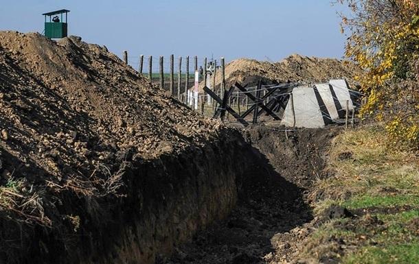 На строительство  Стены  с Россией уже потратили семь миллионов гривен