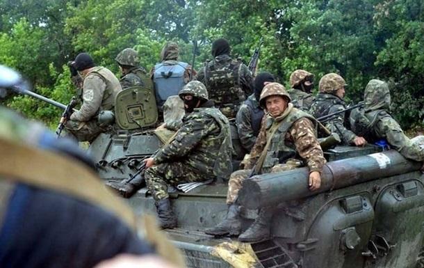 Силовиков под Трехизбенкой обстреляли из Градов - пресс-центр АТО