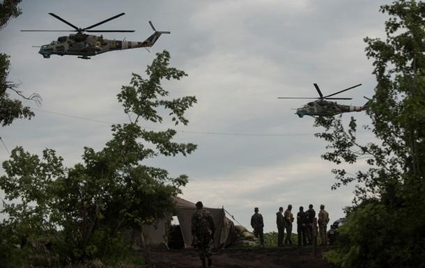 Украинские вертолеты отозваны с гуманитарной миссии ООН