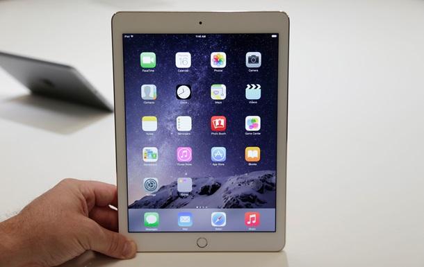 Apple представила самый тонкий планшет iPad Air 2