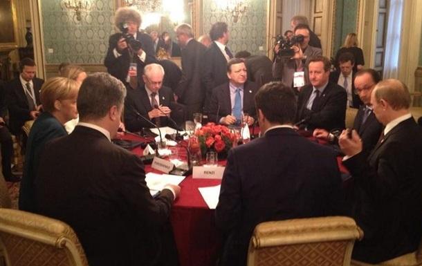 Порошенко в Милане встречается с Путиным и мировыми лидерами