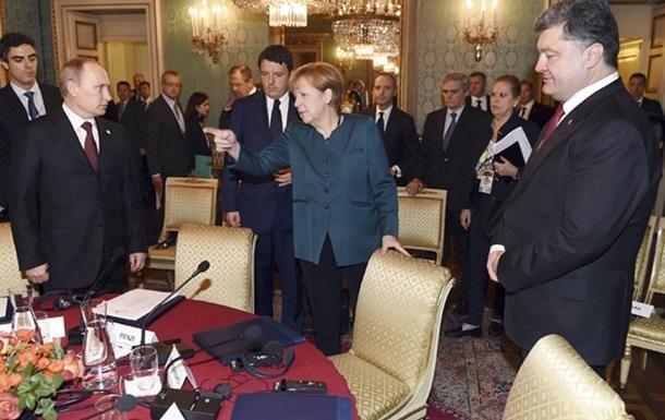 Миланские встречи: о чем договорились Порошенко и Путин
