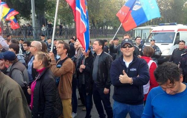 В Москве сегодня соберутся на митинг в поддержку  Новороссии