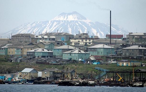 Японские министры осмотрели Курилы