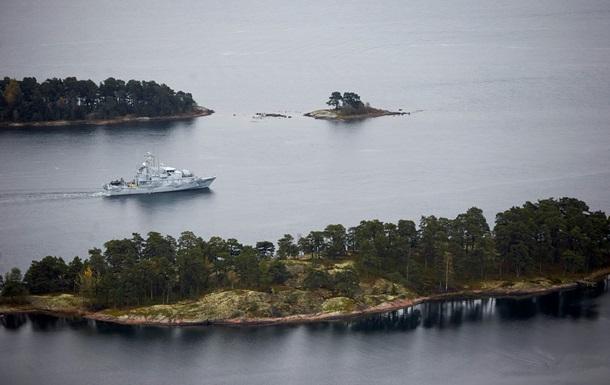 Швеция продолжает поиск неизвестной подлодки в Балтийском море