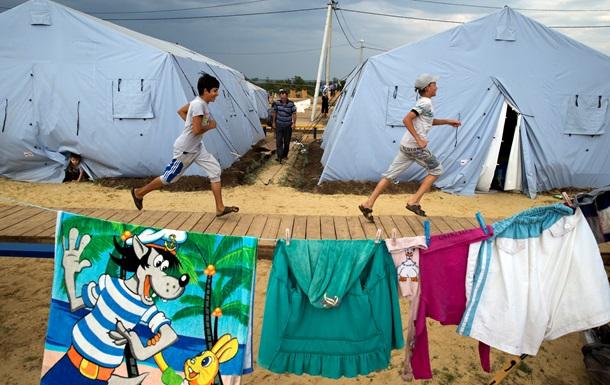 Украинские власти не спешат решать проблемы внутренних переселенцев