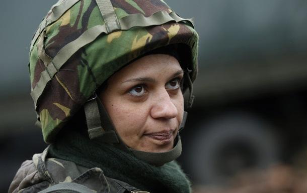 АТО на востоке Украины - женщины-военные