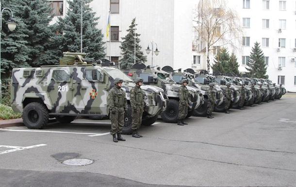В распоряжение МВД прибыли новые бронемашины