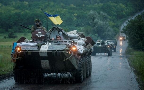 В Донецкой области ранены пять силовиков - штаб АТО