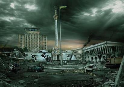Постапокалиптическая майданная Украина