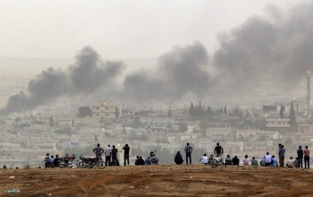 Пентагон: авиаудары помогли отбить высоту близ Кобани