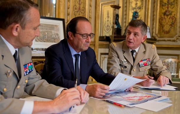 Франция намерена ускорить военную операцию против Исламского государства