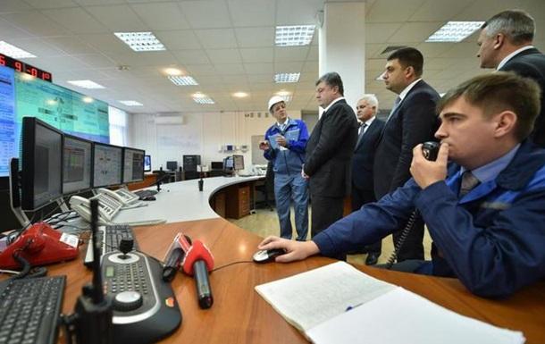 Порошенко запустил два гидроагрегата Днестровской ГАЭС