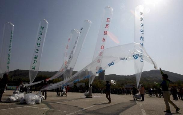 КНДР приравнял запуск воздушных шаров к объявлению войны