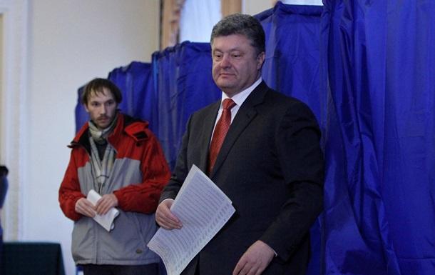 Блок Петра Порошенко набирает 23% голосов,  Народный фронт   – 21,3%