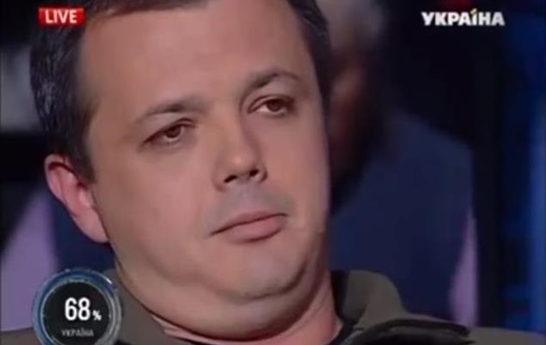 Семенченко в прямом эфире обвинил Ляшко в смене ориентации