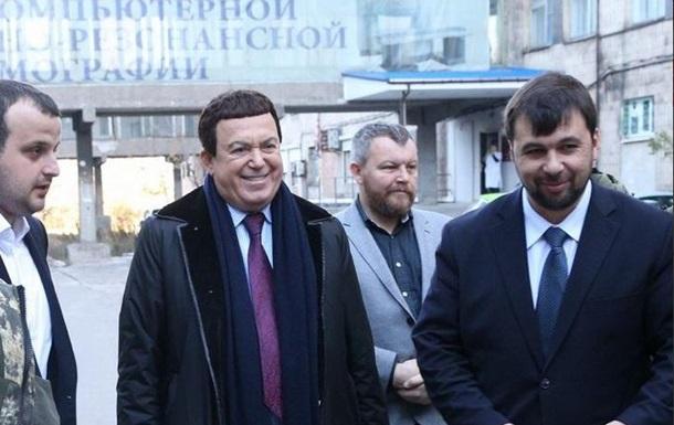 Я люблю тебя, жизнь . Кобзон спел вместе с  премьером  ДНР