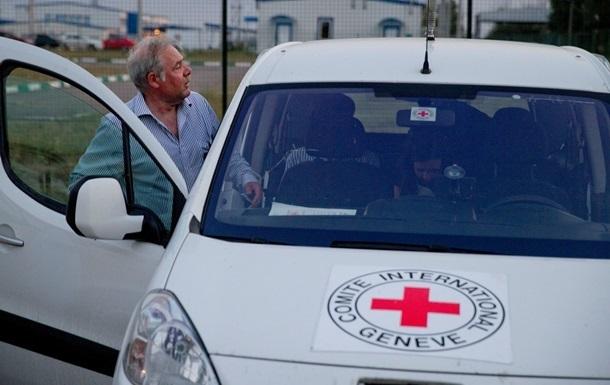 Красный Крест тайно работает в Донецке уже неделю