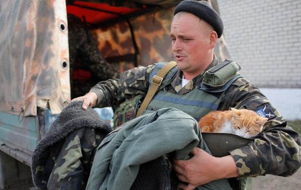 Украинские военные в зоне АТО получили партию  буржуек