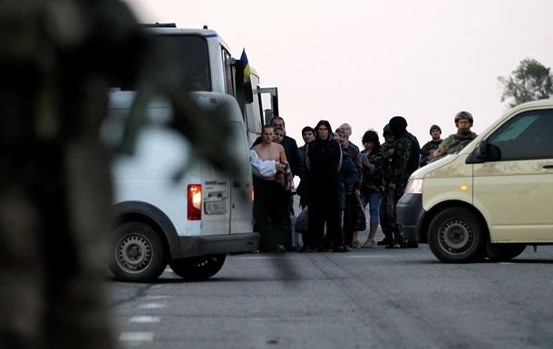 В Донецкой области состоялся обмен пленными