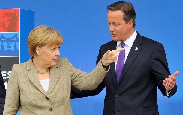 Меркель допустила выход Великобритании из ЕС