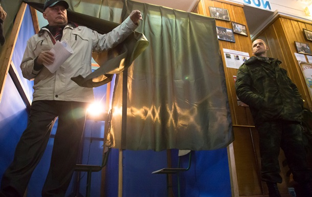 СБУ заявляет о десятках преступлений на выборах в ДНР и ЛНР
