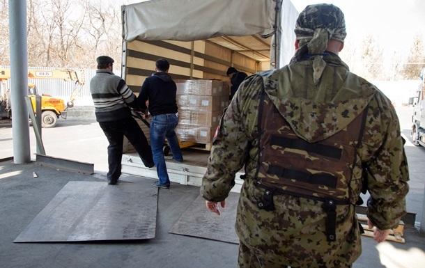 Гуманитарный груз из РФ: завершена разгрузка, колонны возвращаются в Россию