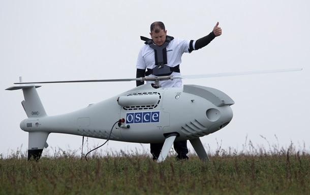 На Донбассе беспилотник ОБСЕ  ослепили  военной аппаратурой