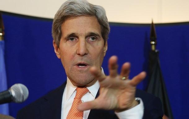 Керри назвал условие снятия санкций с России