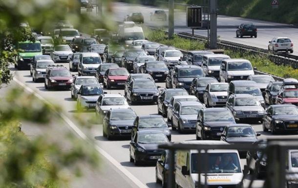 В Германии забастовка привела к коллапсу на дорогах