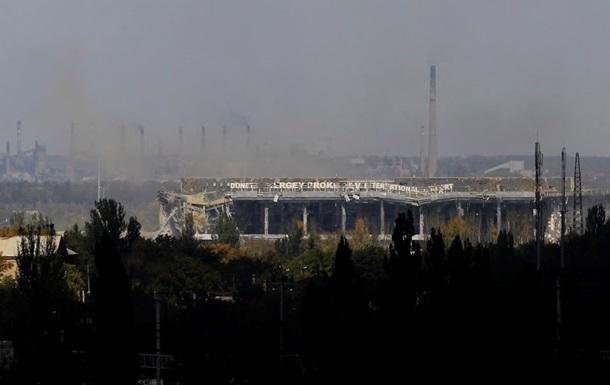 Аэропорт Донецка штурмуют с самого утра – батальон  Правого сектора