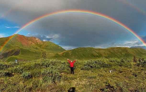 Ученые поймали радугу в ловушку