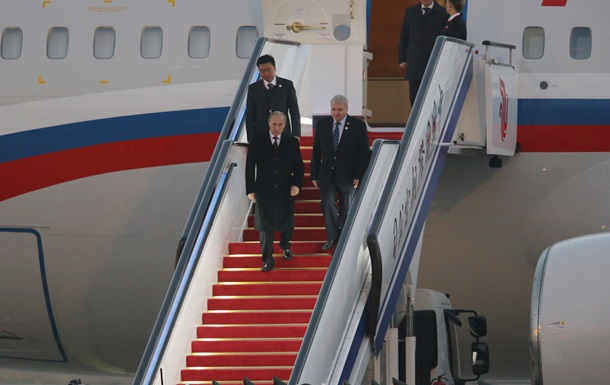 Путин прибыл в Пекин на саммит АТЭС