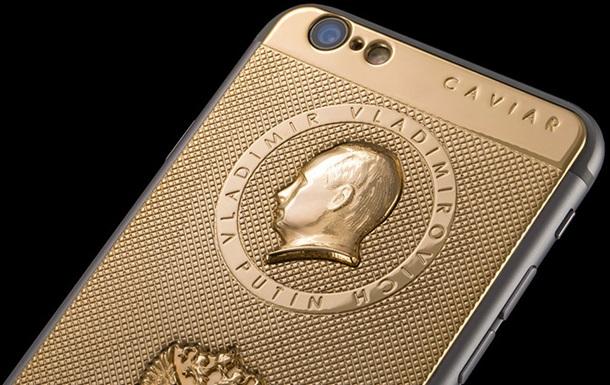 Итальянские ювелиры представили iPhone 6 с портретом Путина