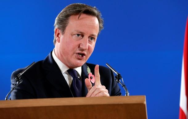 Кэмерон: холодной войны не хотим, но санкции эффективны