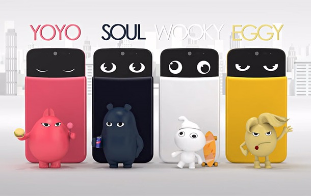 LG представила молодежный смартфон, выражающий эмоции