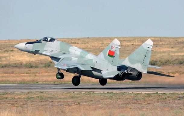 В Беларуси разбился истребитель МиГ-29