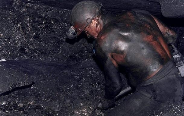 Добыча угля в Донецкой области в октябре упала на 65%