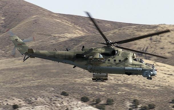 Азербайджан сбил военный вертолет Армении