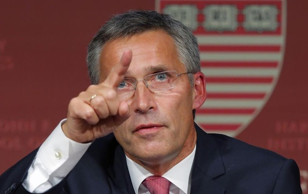 Генсек НАТО призывает Россию вывести войска из Украины