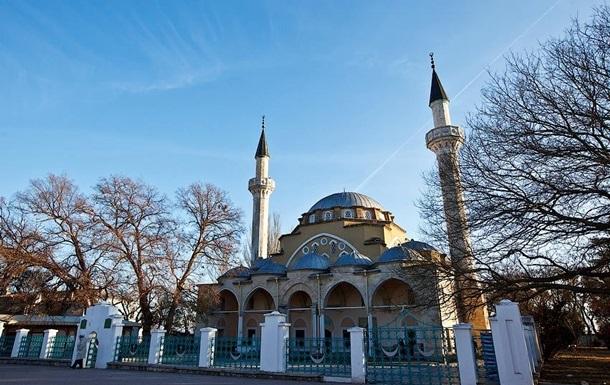 В Крыму подожгли мечеть